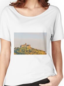 Sunset At St. Michaels Mount Women's Relaxed Fit T-Shirt
