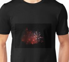 Fireworks in the Night - Colorful Backgrounds of Light and Wonder Unisex T-Shirt