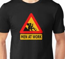 men at work Unisex T-Shirt