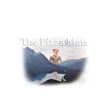 Pizza Man Movie Poster by Jake Kauffman