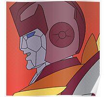 Rodimus Prime Halftone Poster