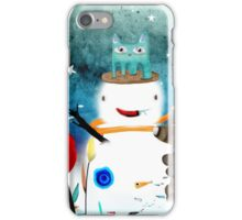 Aurora Australis Christmas Whimsical Stars iPhone Case/Skin