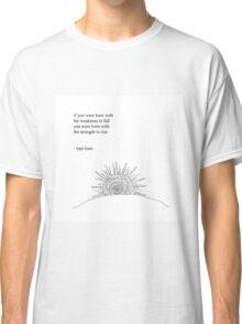 Rise- Rupi Kaur Classic T-Shirt