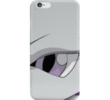 Mewtwo Halftone iPhone Case/Skin
