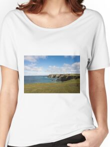 Godrevy to St Agnes, The North Cornwall Coastline Women's Relaxed Fit T-Shirt