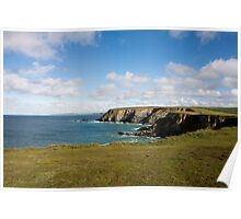 Godrevy to St Agnes, The North Cornwall Coastline Poster