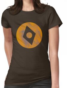 Rusty compass Womens Fitted T-Shirt