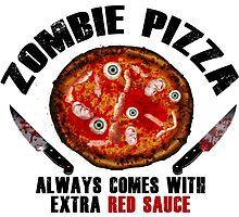 Zombie Pizza by zombiemama