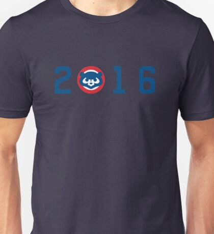 Cubs 2016 - blue Unisex T-Shirt