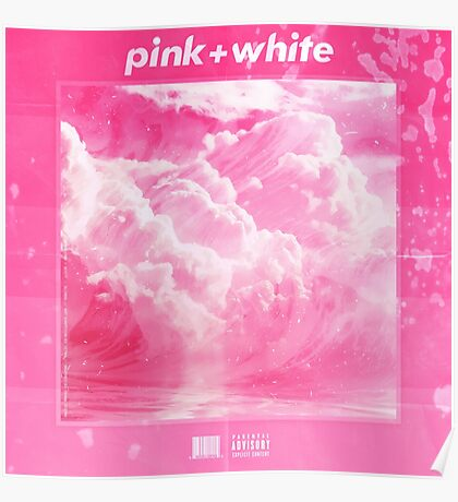 Frank O - Blonde - Pink & White Poster