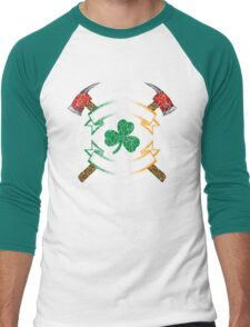 Fir na Tine - Men of Fire Men's Baseball ¾ T-Shirt