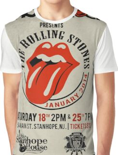 Rolling Stones Rock Graphic T-Shirt