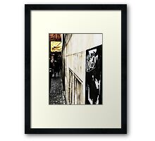 point of wiew of bremen Framed Print
