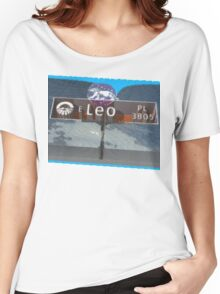 Leo Place Women's Relaxed Fit T-Shirt