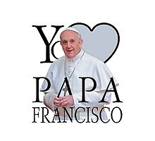 Yo Amo Papa Francisco I Love Pope Francis by Garaga