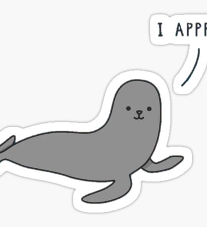 approving seal Sticker