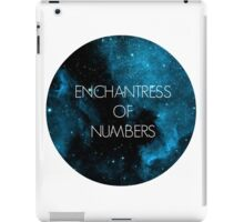 The Enchantress of Numbers iPad Case/Skin