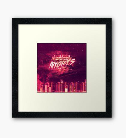 Frank - Blonde - Nights Framed Print