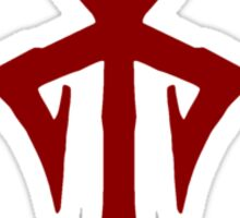 Los Illuminatos Cult Symbol (Red) Sticker