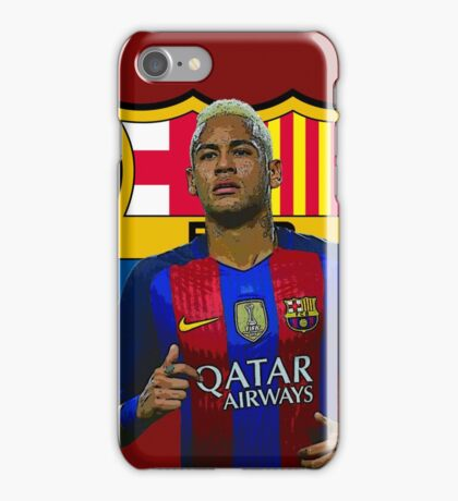 Barcelona Neymar iPhone Case/Skin