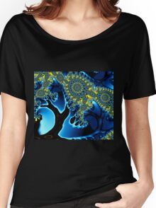 Walking in the Moonlight Women's Relaxed Fit T-Shirt