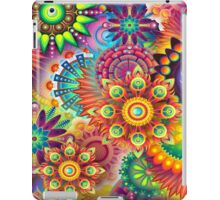 Flowers in abstract iPad Case/Skin