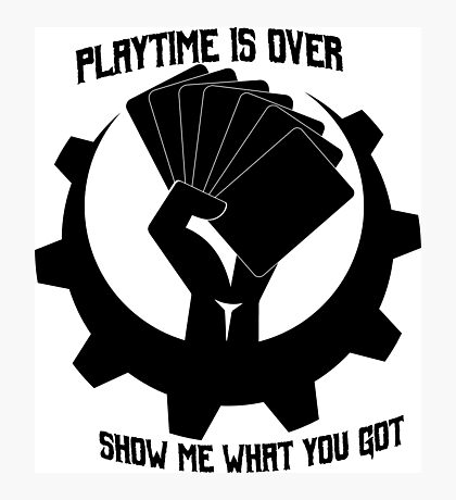 Playtime is over Photographic Print