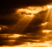 SUNSET-CLOUDS-1305 by Paul Foley