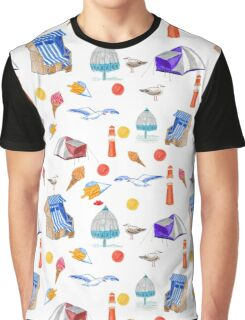 Ostsee Muster - Pattern Seaside  Graphic T-Shirt