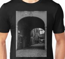 Through the archway Unisex T-Shirt