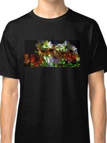 Backlit Flower Bouquet  Classic T-Shirt