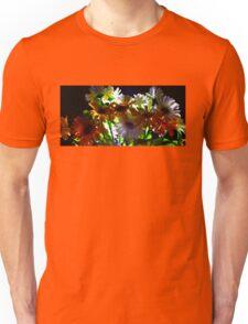 Backlit Flower Bouquet  Unisex T-Shirt