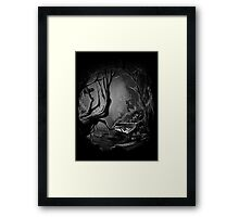 Piano Tree Framed Print