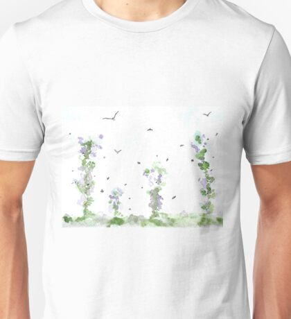 Birds and Bees, Summer Breeze Unisex T-Shirt