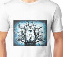 Tree of Life Archetype Religious Symmetry Unisex T-Shirt