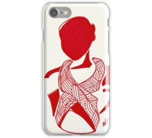 Breast Cancer Awareness in Red iPhone Case/Skin