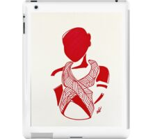 Breast Cancer Awareness in Red iPad Case/Skin