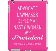 President at Home - Election 2016 Hillary Clinton iPad Case/Skin