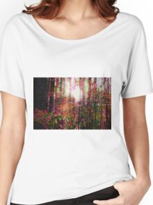 Psychedelic Forest I Women's Relaxed Fit T-Shirt