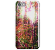 Psychedelic Forest I iPhone Case/Skin
