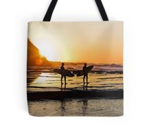 SURFING-SUNRISE-5916 Tote Bag