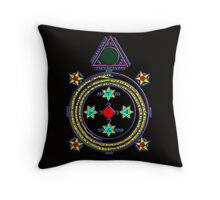 Solomon Circle Goetia Throw Pillow