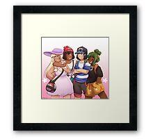 Pokemon - Alola Squad Framed Print