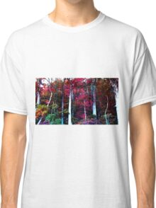 Psychedelic Forest IV Classic T-Shirt