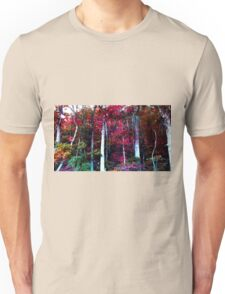 Psychedelic Forest IV Unisex T-Shirt