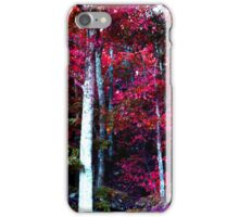 Psychedelic Forest IV iPhone Case/Skin