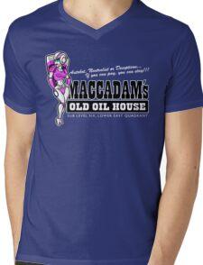 Maccadam's Old Oil House Mens V-Neck T-Shirt