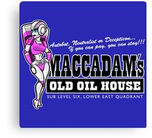 Maccadam's Old Oil House Canvas Print