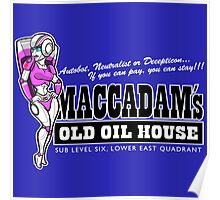 Maccadam's Old Oil House Poster