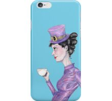 Tea at 20 paces iPhone Case/Skin